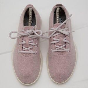Allbirds Wool Runners Light Pink lightweight
